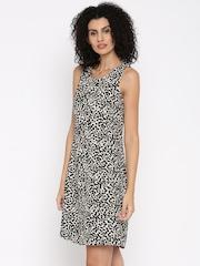 Jealous 21 Women Black Printed Sheath Dress