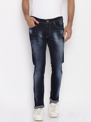 Being Human Men Blue Slim Fit Mid-Rise Clean Look Jeans