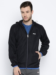 FILA Navy Hooded Sweatshirt
