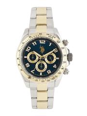 U.S. Polo Assn. Men Navy Chronograph Watch USAT0117