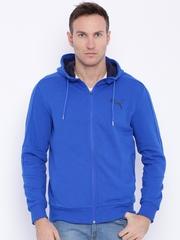 Puma Blue Hero FZs Hooded Sporty Jacket