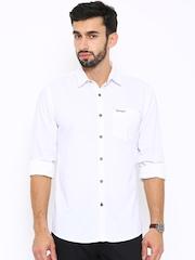 Wrangler White Casual Shirt