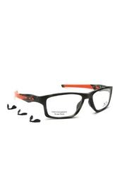 OAKLEY Men Black & Orange Rectangular Frames 0OX809080900155