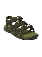Adidas Men Brown Bustle Sports Sandals