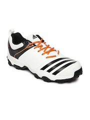 Adidas Men White 22 YDS Trainer16 Cricket Shoes