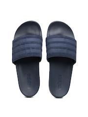 Adidas Men Navy Blue Adilette CF Ultra Explorer Sandals