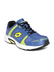 Lotto Men Blue Running Shoes