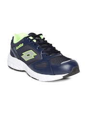 Lotto Men Navy OMEGA II Running Shoes