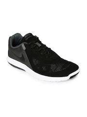 Nike Men Black Flex Experience RN 5 Colourblocked Running Shoes