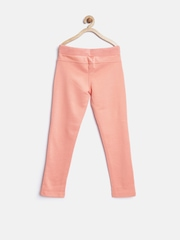 United Colors of Benetton Girls Peach-Coloured Track Pants