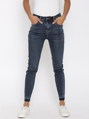 New Look Women Blue High-Rise Clean Look Jeans