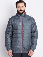 Reebok Grey M'S Core Outdoor Padded Jacket