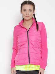 Reebok Pink Core Slim Outdoor Jacket