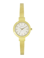 DKNY Women Silver-Toned Analogue Watch NY2350