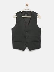 Gini & Jony Gold Boys Black Waistcoat