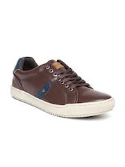 Numero Uno Men Brown Solid Sneakers
