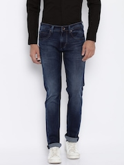 Killer Men Blue Skinny Fit Mid-Rise Clean Look Jeans