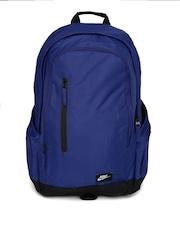 Nike Men Blue All Access Fullfare Laptop Backpack