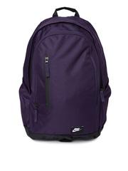Nike Men Purple All Access Fullfare Laptop Backpack