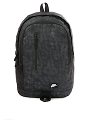 Nike Unisex Black & Grey All Access Soleday Printed Backpack