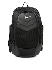 Nike Unisex Black & Grey Vapor Power Textured Backpack