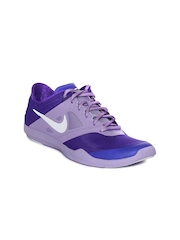 Nike Women Purple Studio Trainer 2 Training Shoes