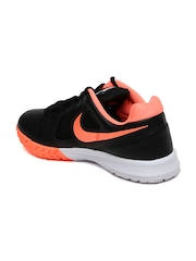 Nike Women Black Air Vapor Ace Tennis Shoes