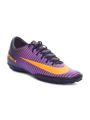 Nike Men Purple MERCURIALX Victory VI Football Shoes