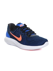Nike Men Blue LUNARGLIDE 8 Running Shoes