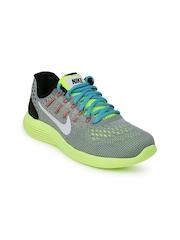 Nike Women Grey Lunarglide 8 Running Shoes