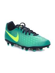 Nike Kids Green Magista Opus II Football Shoes