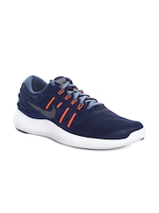 Nike Men Blue Lunarstelos Running Shoes