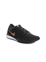 Nike Women Black Dual Fusion Hit Training Shoes