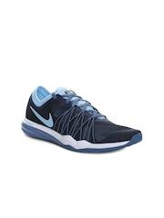 Nike Women Navy Blue Dual Fusion Hit Training Shoes