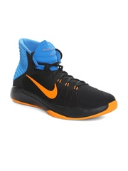 the best attitude 9cd5e 88735 Nike Men Black Blue Prime Hype DF 2016 Basketball Shoes available at Myntra  for Rs.