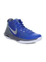 Nike Men Blue & Grey Air Versitile Basketball Shoes