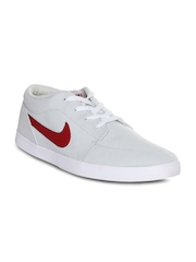 Nike Men Grey Voleio CNVS Solid Regular Sneakers