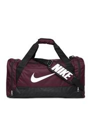 Nike Unisex Maroon Medium Brasilia 6 Duffel Bag