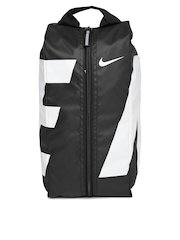Nike Men Black & White Printed Alpha Adapt Shoe Bag