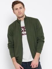 Wills Lifestyle Olive Green Sweatshirt