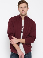 Wills Lifestyle Maroon Sweatshirt
