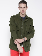 Tommy Hilfiger Olive Green Jacket