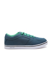 United Colors of Benetton Men Teal Blue Sneakers