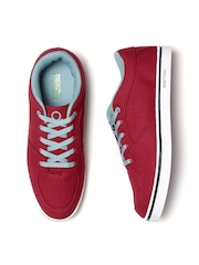United Colors of Benetton Men Red Sneakers