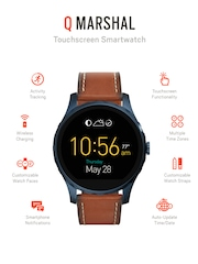 Fossil Q Marshal Brown Touchscreen Smart Watch