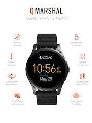 Fossil Q Marshal Black Touchscreen Smart Watch