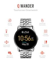 Fossil Q Wander Stainless Steel Touchscreen Smart Watch