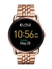 Fossil Q Wander Rose Gold-Toned Touchscreen Smart Watch