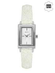 DKNY Women Silver-Toned Analogue Watch NY8710