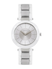 DKNY Women Silver-Toned Analogue Watch NY2288